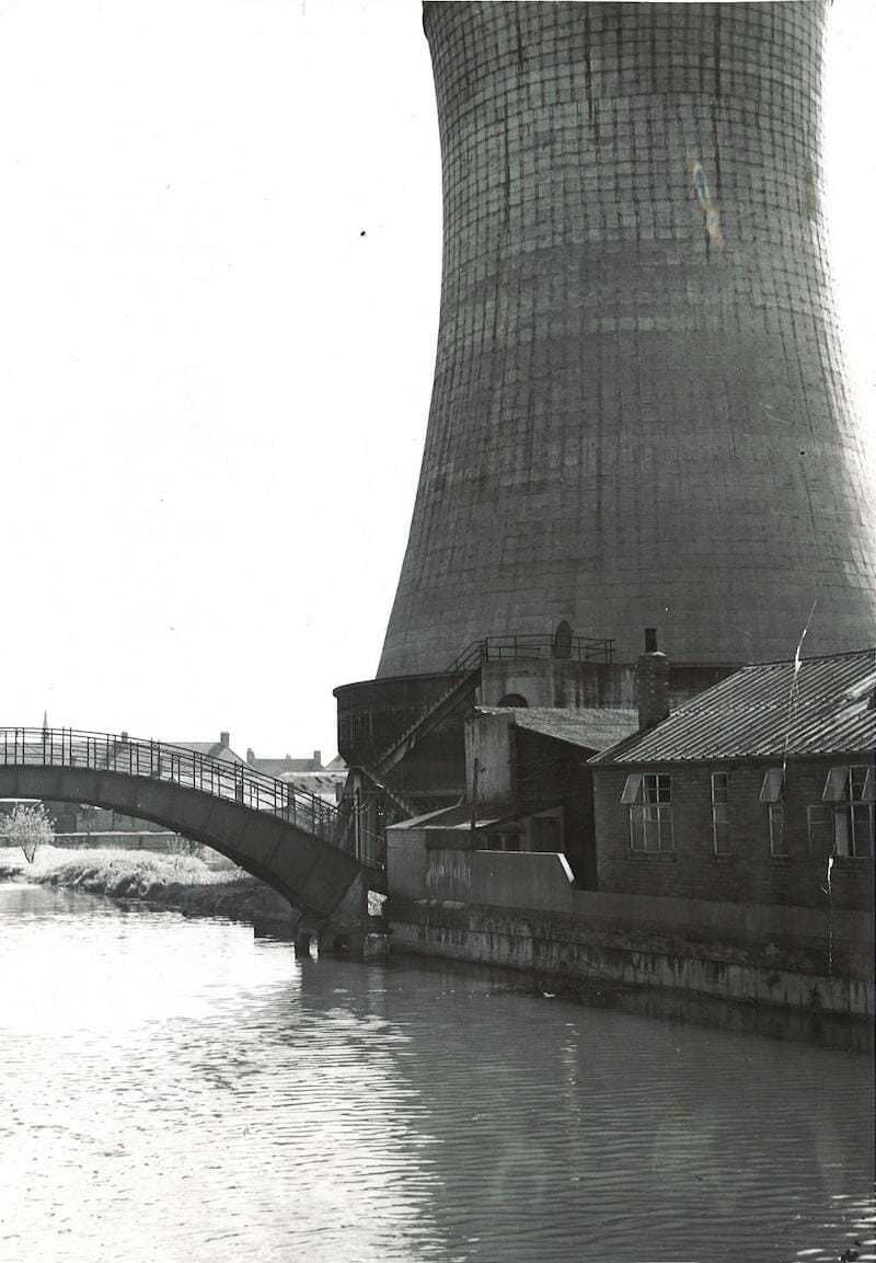 York Tip Cooling Tower Power Station Foss Island Road York