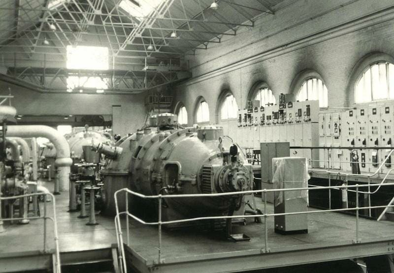 York Tip Power Station Generator Room