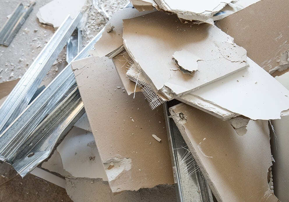 plasterboard-disposal-York-boards