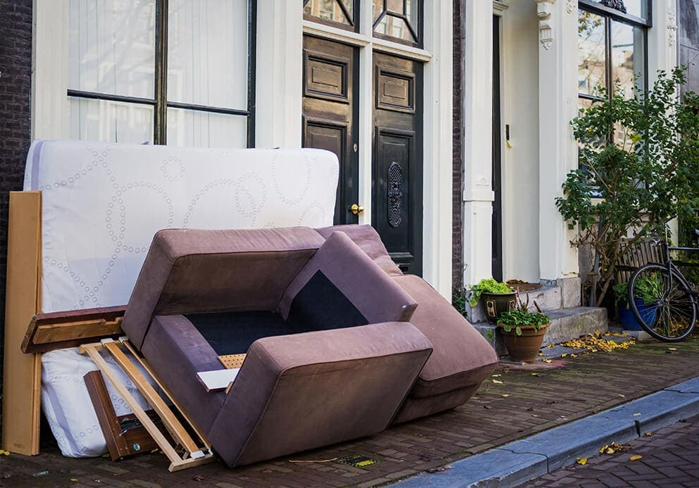 rubbish-removal-Haxby-arm-chair-mattress