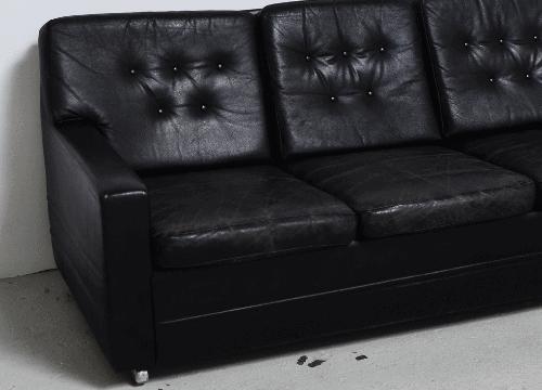 sofa-removal-Huntington-black